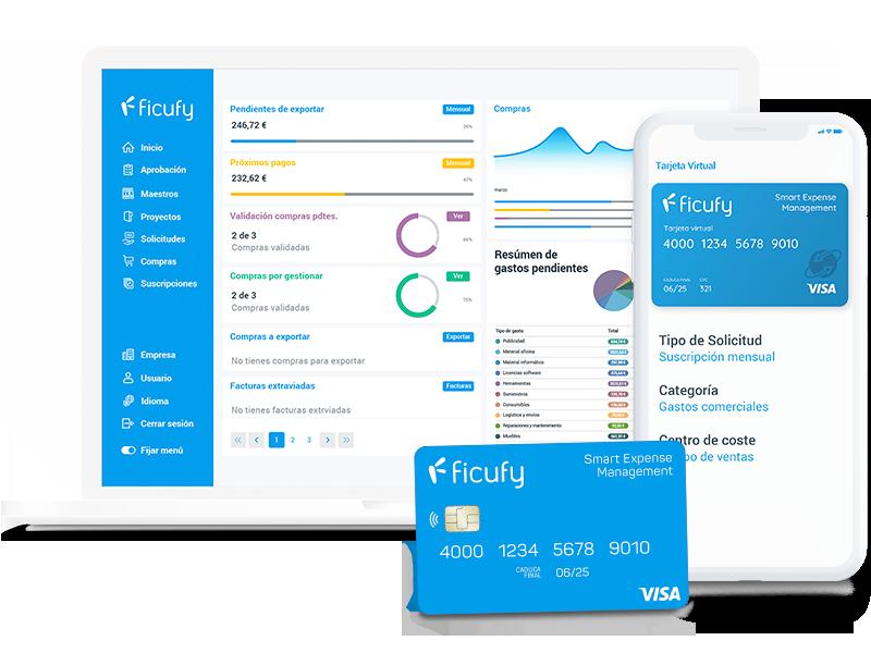 Ficufy, la solución para gestionar y pagar todos los gastos corporativos.