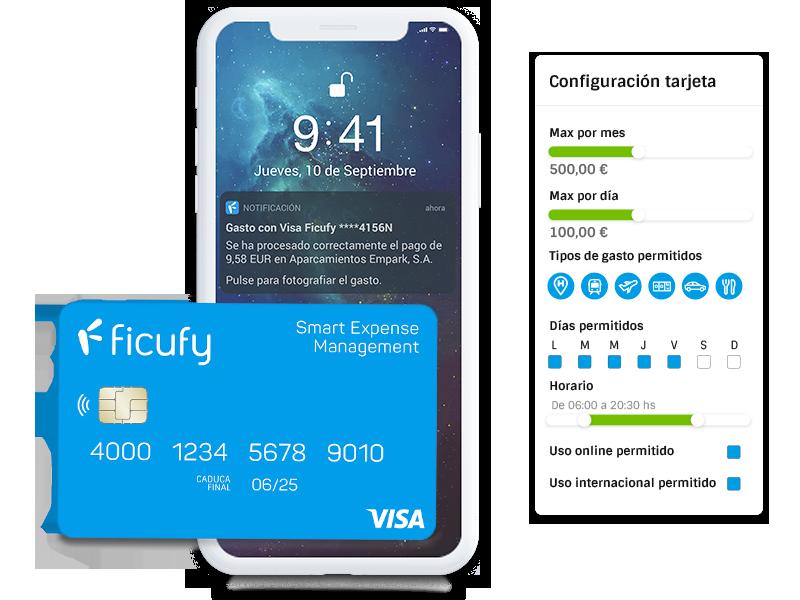 Tarjeta Visa Ficufy