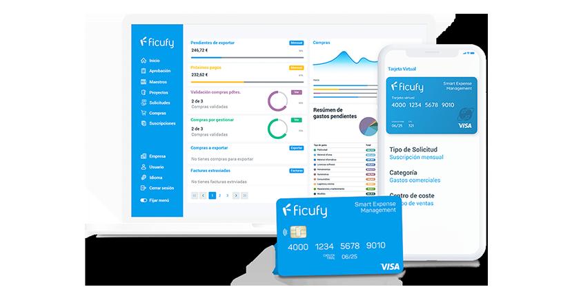 Ficufy, la solución cloud para pagar y gestionar las compras de empresa